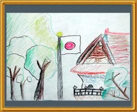 『神社の森』