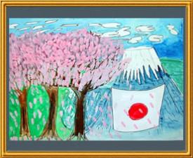 『春の日本』