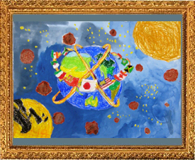 『青い小さな惑星』