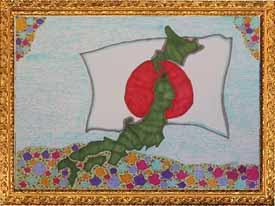 『花畑と日本』
