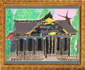 『春の八幡宮』